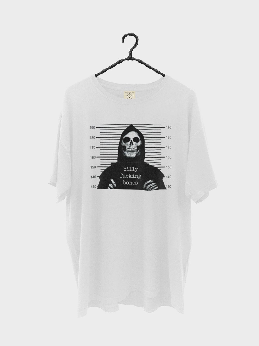 Caught Dead Tee - Vintage White