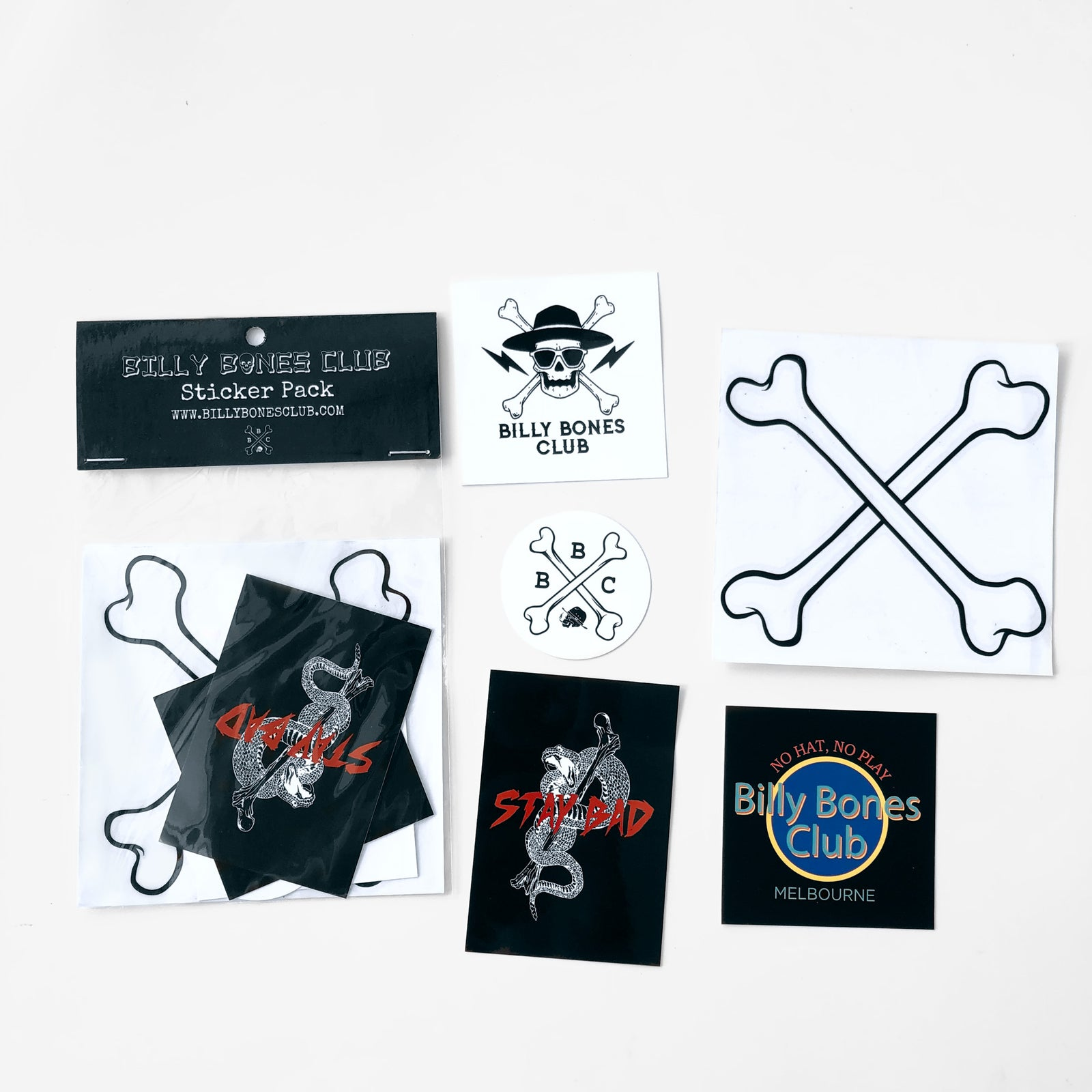 STAY BAD STICKER PACK