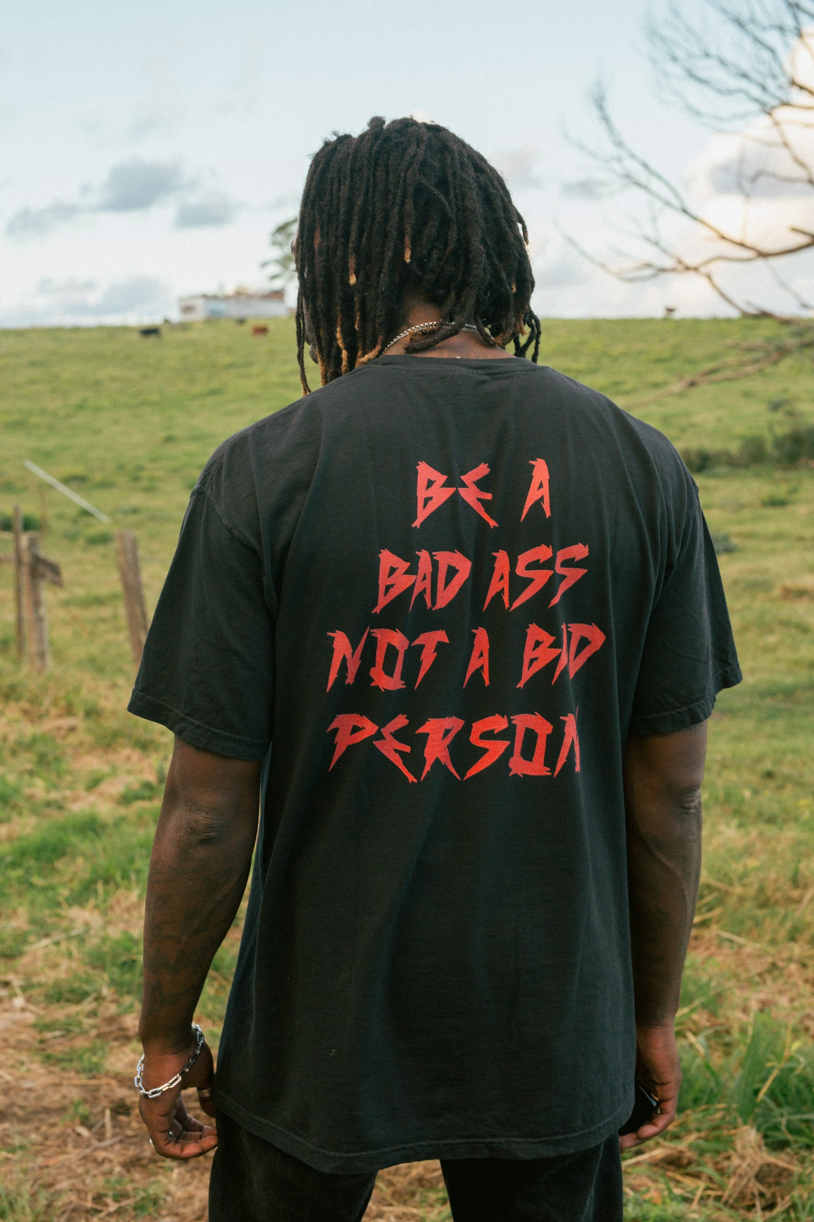 STAY BAD 2.0 Tee - Vintage Black