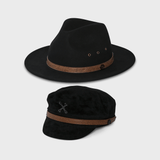 Rebel Clean Skin Starter Pack - Black Betty Fedora and The Skipper Hat