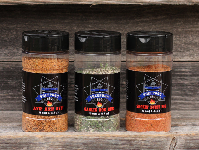 Sheepdog BBQ Rub Set (Small)
