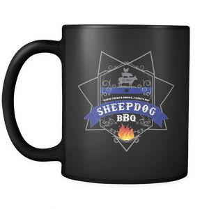 Sheepdog BBQ Coffee Mug