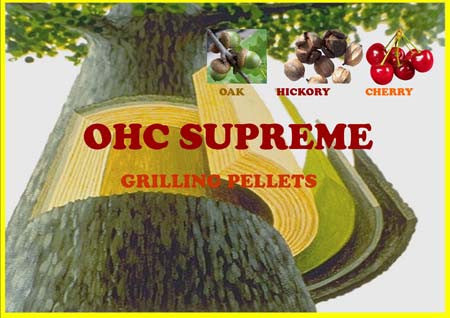Supreme Blend(Oak, Hickory, Cherry)