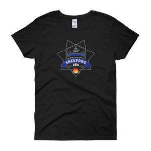 Sheepdog BBQ (Women's short sleeve t-shirt)