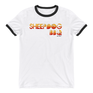 Sheepdog BBQ Summer Ringer T-Shirt