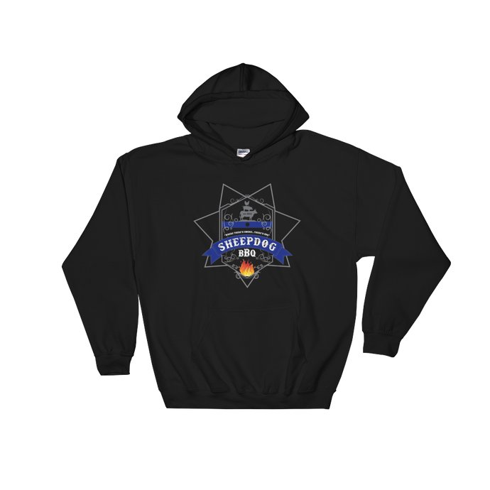 Sheepdog BBQ (Hooded Sweatshirt)