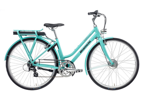Bianchi E-Spillo Classic Step-Through Electric Bike