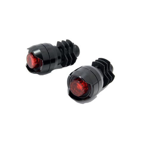Cateye Orb Bar End Light Set