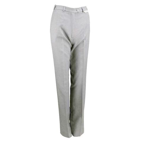 Ladies Stretch Slacks  Grey
