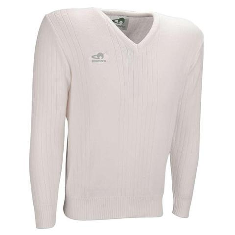 Mens Ribbed V-Neck Pullover
