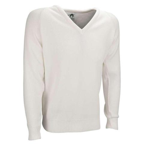 Mens Plain V-Neck Pullover