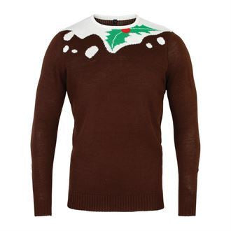 Pudding 2D Christmas Jumper