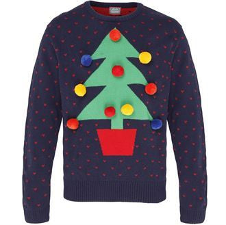 Tree 3D Christmas Jumper