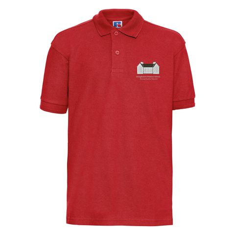 DPS Red Polo