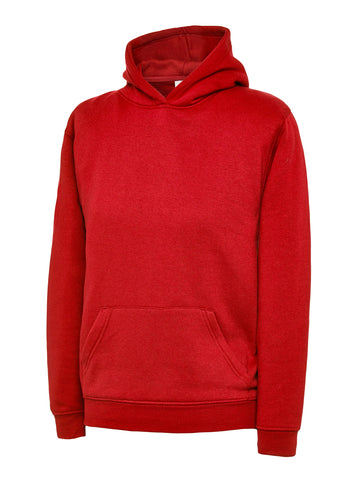 Uneek Child Red Hoodie