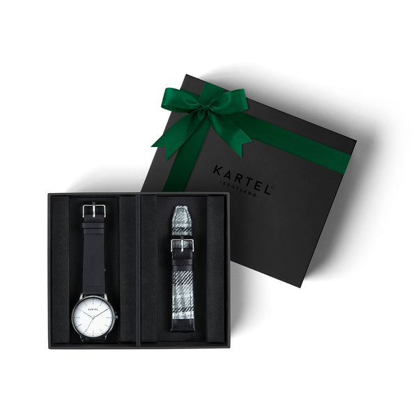 Hume Watch & Spare Strap Gift Set