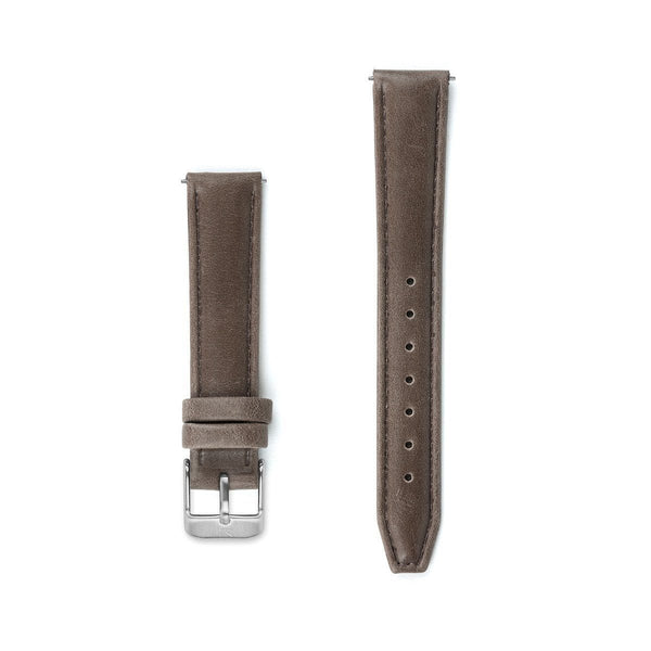 Brown Stitched Leather Watch Strap - 16mm Width Watch Strap - Kartel Scotland