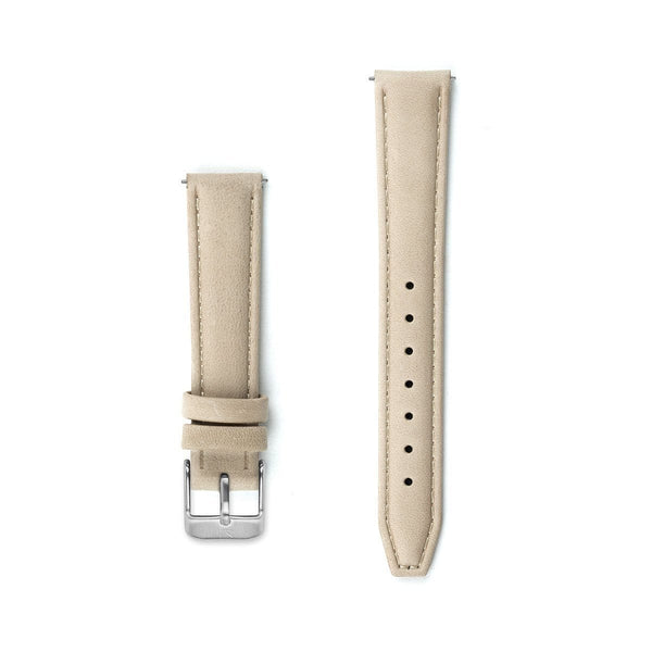 Ivory Leather Watch Strap - 16mm Width Watch Strap - Kartel Scotland