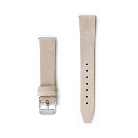 Flat Nude Pink Leather Watch Strap - 16mm Width Watch Strap - Kartel Scotland