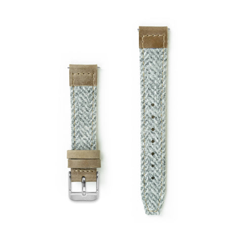 Yarrow Lambswool Watch Strap - 16mm Width Watch Strap - Kartel Scotland