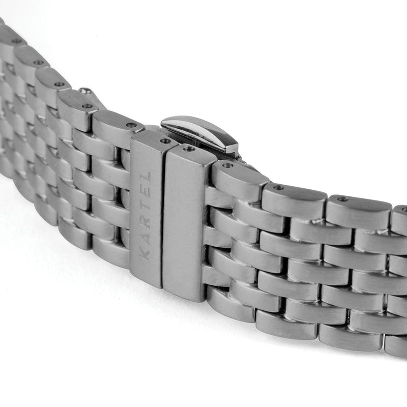 Gunmetal Watch Strap - 16mm Width Watch Strap - Kartel Scotland