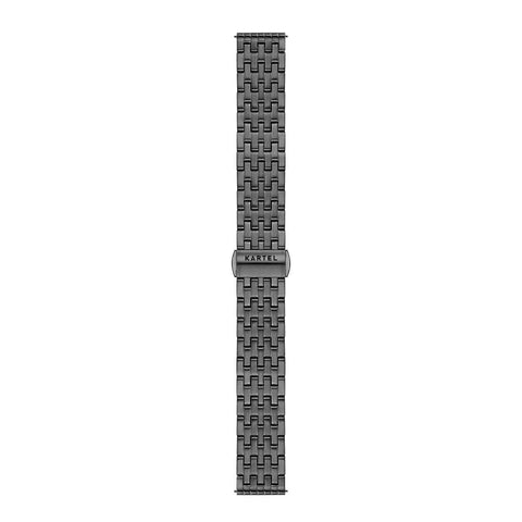 16MM – GUN METAL STRAP Watch - Kartel Scotland