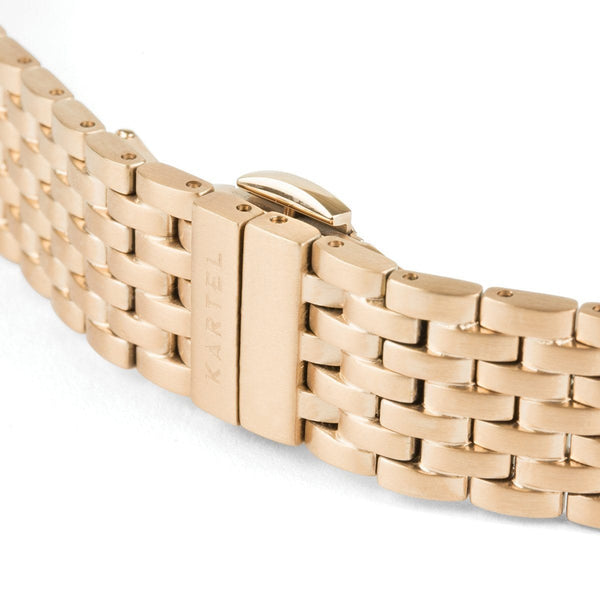 Rose Gold Metal Watch Strap - 16mm Width Watch Strap - Kartel Scotland