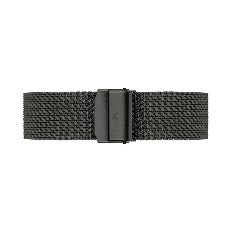 Black Chain Mesh Watch Strap - 20mm Width Watch Strap - Kartel Scotland