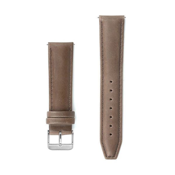 Brown Stitched Leather Watch Strap - 20mm Width Watch Strap - Kartel Scotland