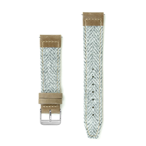 Yarrow Lambswool Watch Strap - 20mm Width Watch Strap - Kartel Scotland