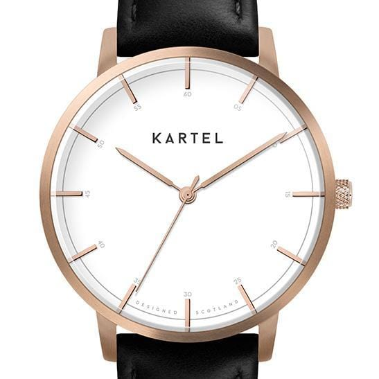ISLA  – ROSE GOLD/WHITE Watch Case - Kartel Scotland