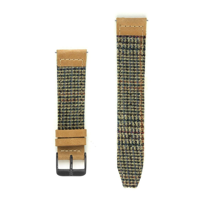 Troon Cashmere Watch Strap - 20mm Width Watch Strap - Kartel Scotland