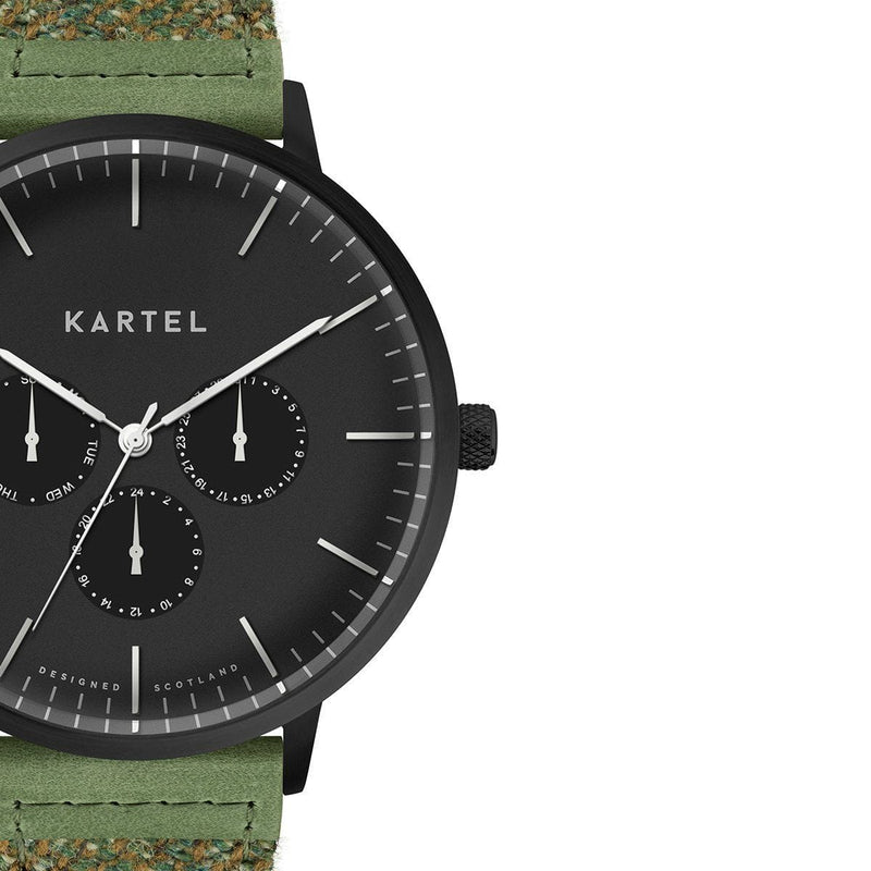 KT-Cuillin 43mm-BBGST Watch - Kartel Scotland