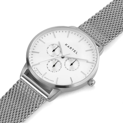 KT-Cuillin 43mm-SWMESH Watch - Kartel Scotland
