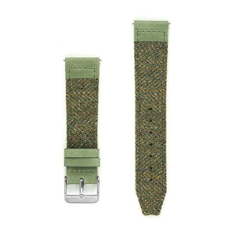 Garve Saxony Tweed Watch Strap - 20mm Width Watch Strap - Kartel Scotland