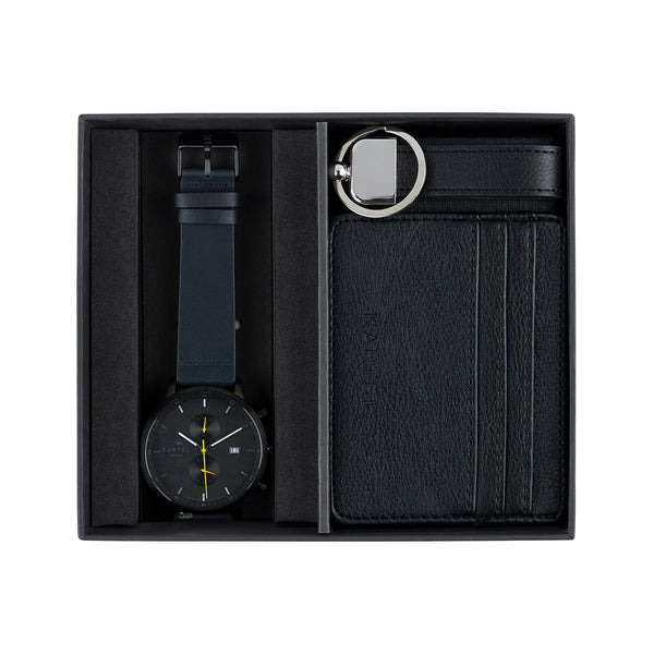 Knoydart Watch, Credit Card Holder & Keyring Gift Set