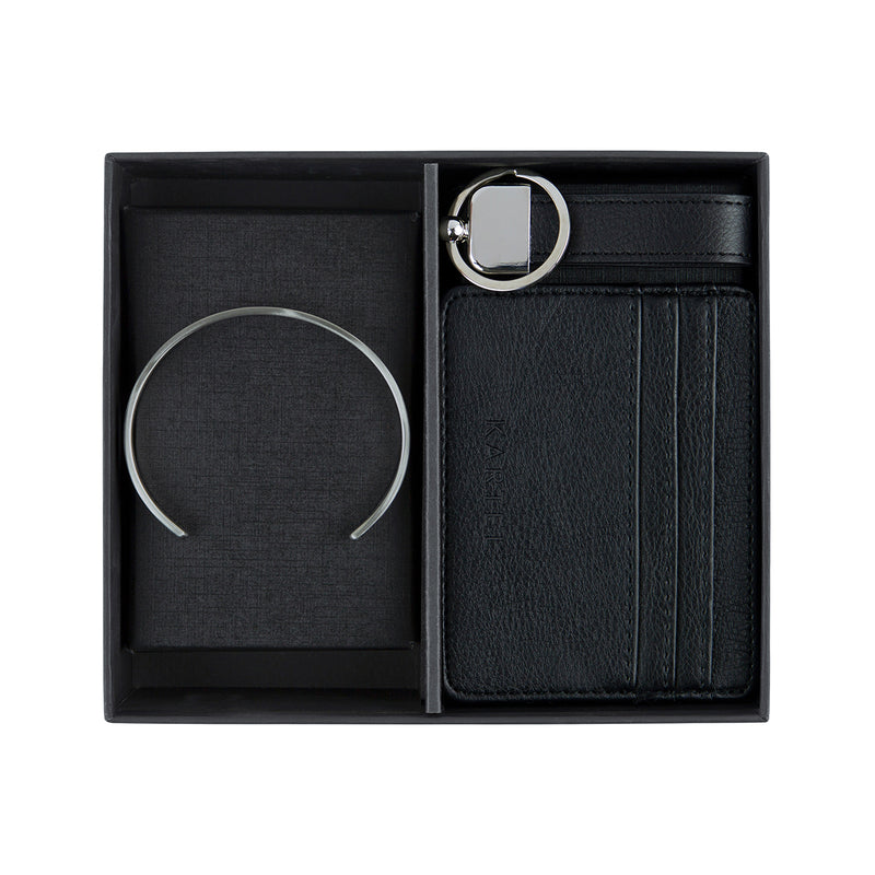Silver Cuff, Credit Card Holder & Keyring