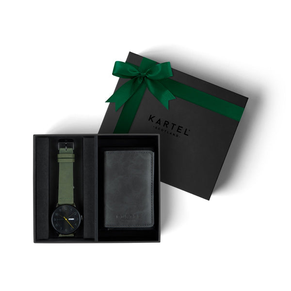 Morris Watch & Grey Wallet Gift Set