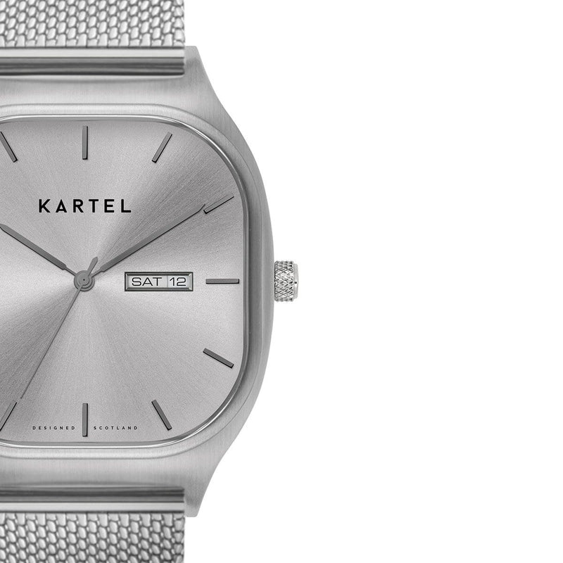 KT-SINCLAIR 42mm-SSMESH Watch - Kartel Scotland
