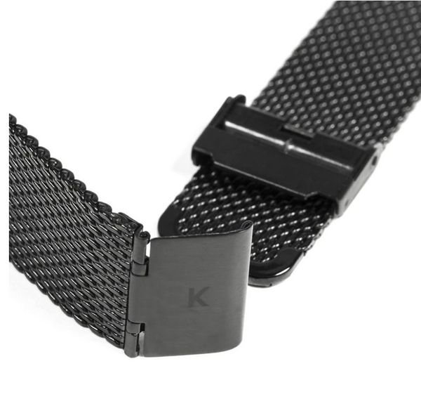 16mm Mesh Strap - Gun Metal