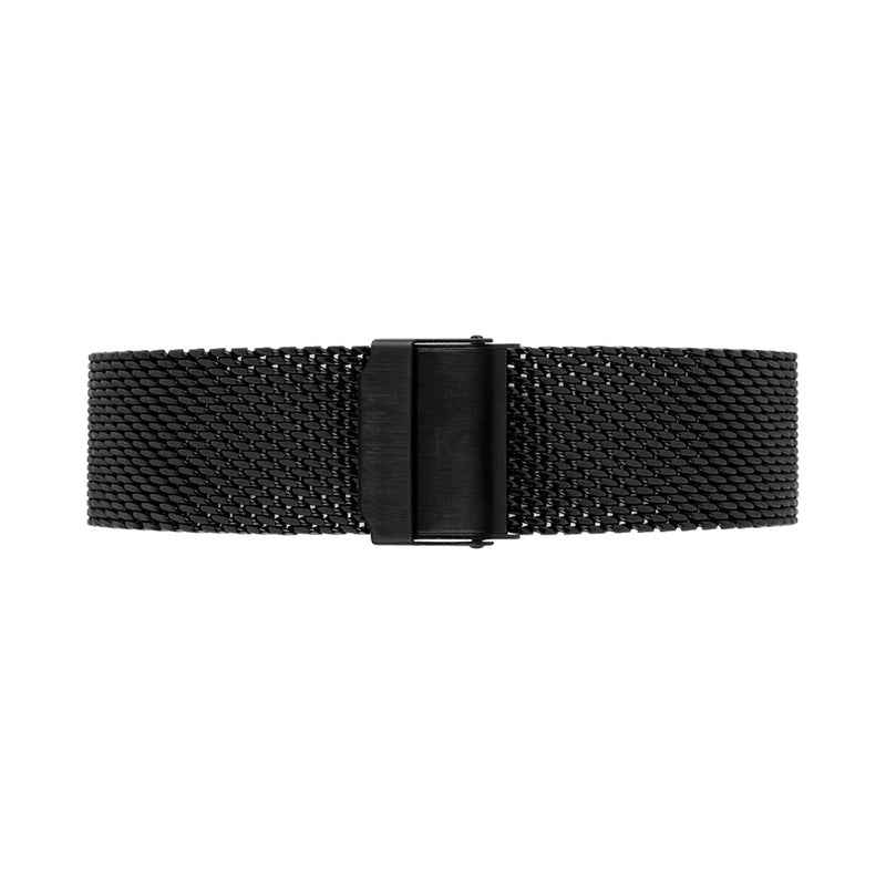 MORRIS 40mm Black Chain Mesh Strap Watch