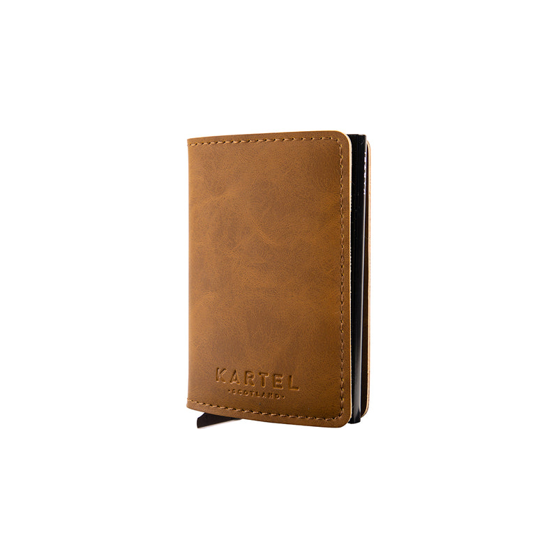 Light Brown Wallet With Card Holder