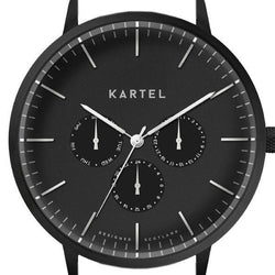 CUILLIN CASE - BLACK/BLACK Watch Case - Kartel Scotland