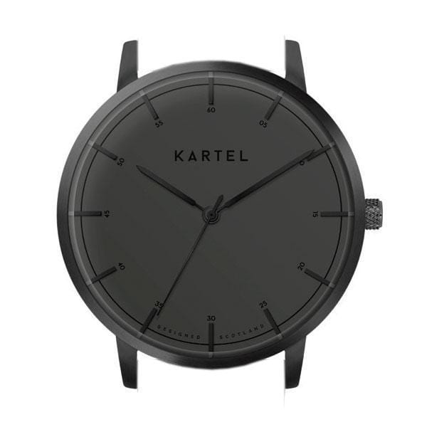 ISLA – GUN METAL/BLACK Watch Case - Kartel Scotland