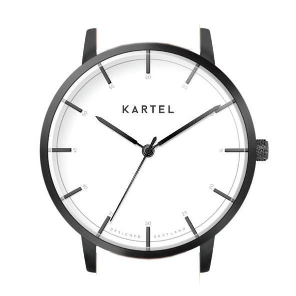ISLA – GUN METAL/WHITE Watch Case - Kartel Scotland