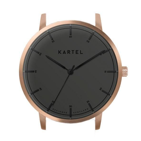 ISLA  – ROSE GOLD/BLACK Watch Case - Kartel Scotland