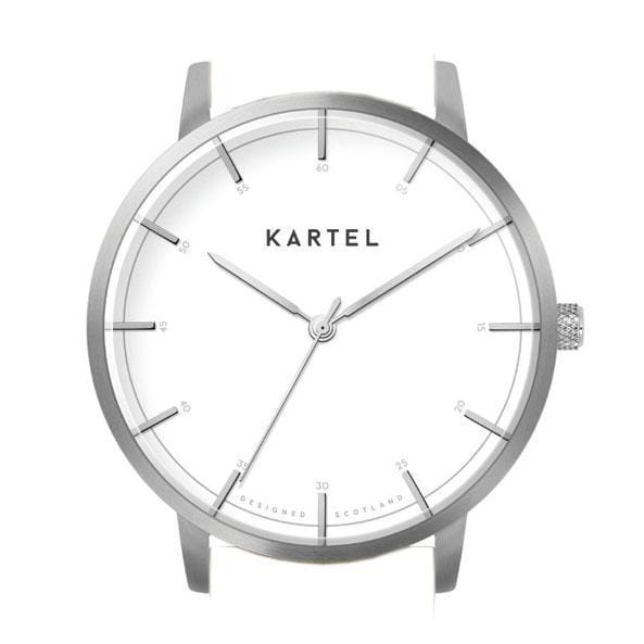 ISLA – SILVER/WHITE Watch Case - Kartel Scotland