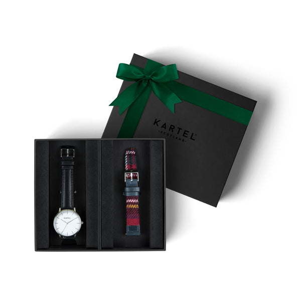 Isla Watch & Spare Strap Gift Set