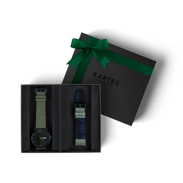 Morris Watch & Spare Strap Gift Set