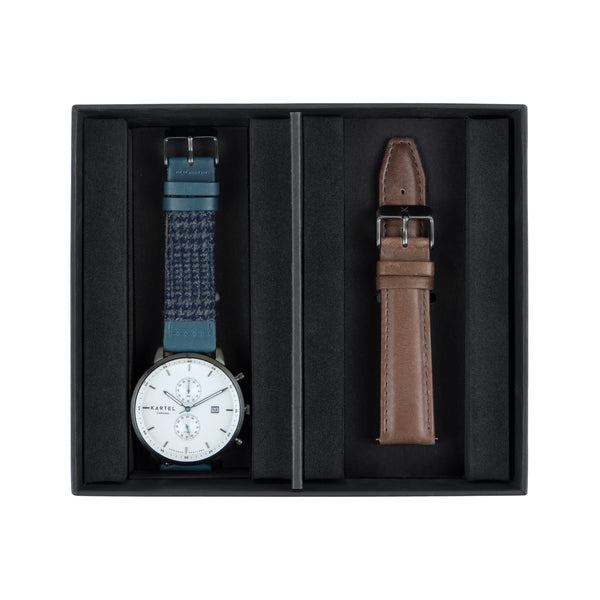 Knoydart Watch & Spare Strap Gift Set